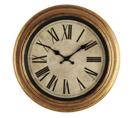Zegar ścienny Gold Margin