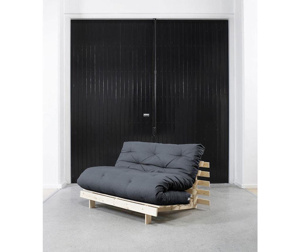 Kauč na razvlačenje Roots Raw & Navy 140x200 cm