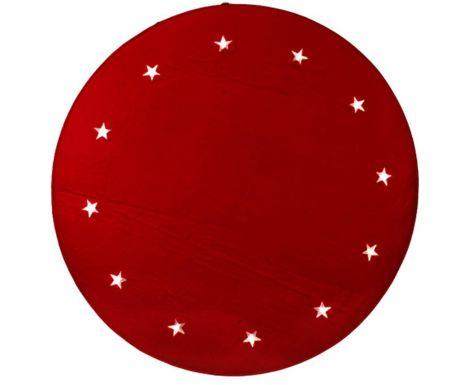 Christmas Stars Red Szőnyeg fényekkel