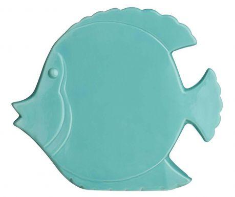 Decoratiune Fish Turquoise