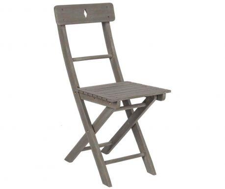 Krzesło zewnętrzne Balcony Grey