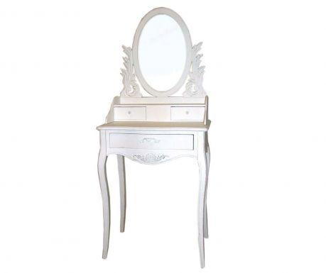 Kozmetický stolík Meridian Round