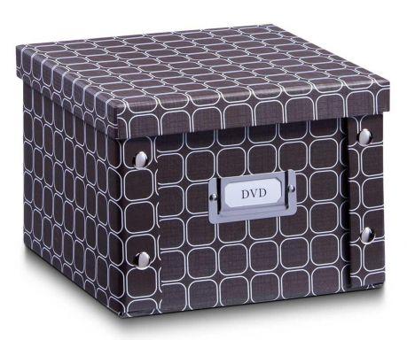 Shranjevalna škatla s pokrovom DVD Texture