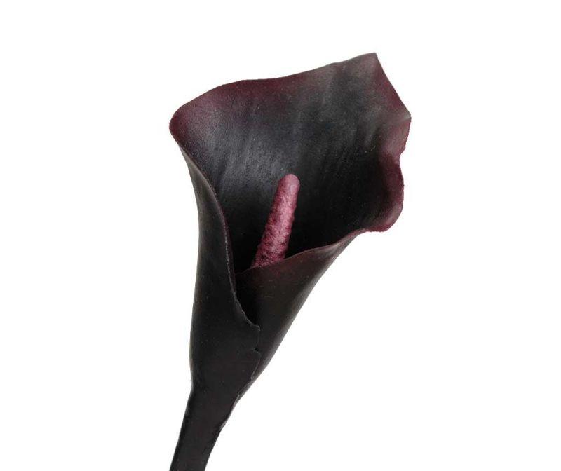 Floare artificiala Black Arum