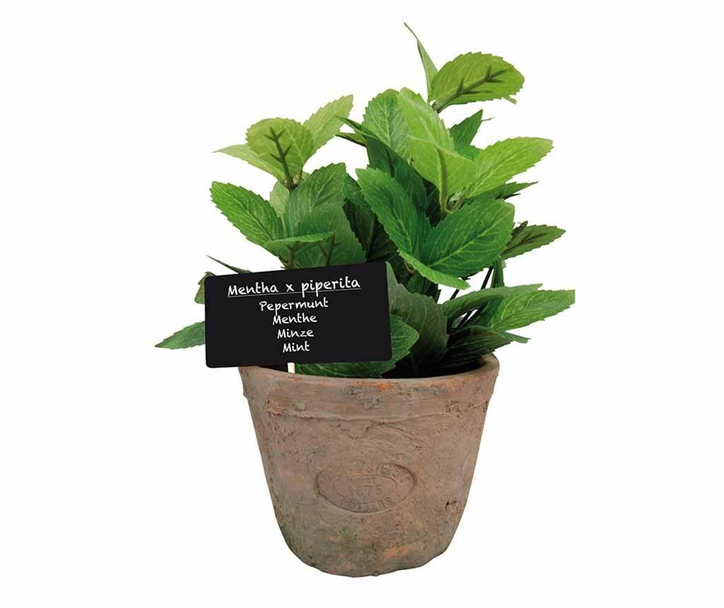Doniczka ze sztuczną rośliną Mint Grande