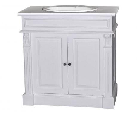 Szafka łazienkowa z umywalką Small Column White