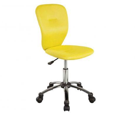 Dječja uredska stolica Kids Smooth Yellow