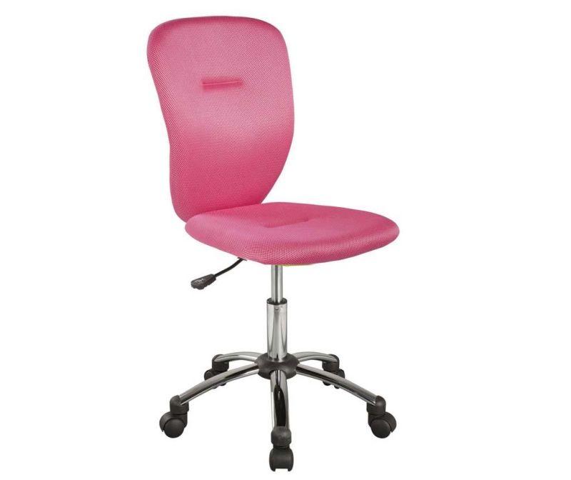 Dječja uredska stolica Smooth Pink