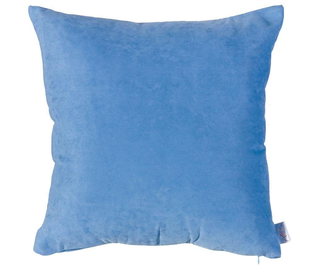 Plain Light Blue Párnahuzat 43x43 cm