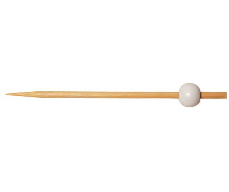 Set 100 nabodal za prigrizke Bamboo White Pick