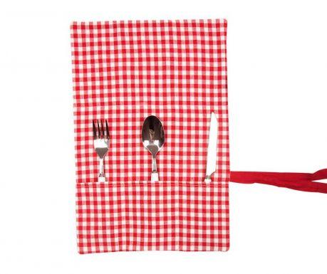 Suport textil pentru tacamuri Checkers