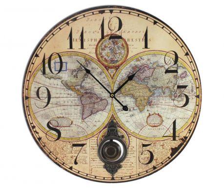 Стенен часовник Map