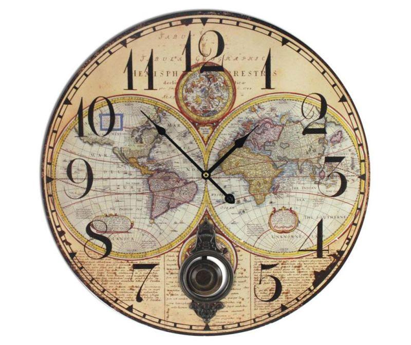 Nástěnné hodiny Map
