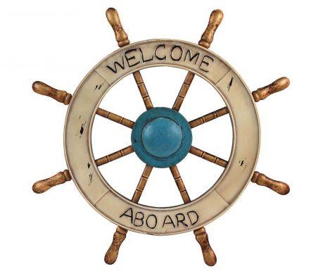 Welcome Aboard Fali dekoráció