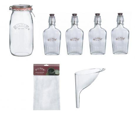 Gin and Liqueurs 7 darabos Italos szett