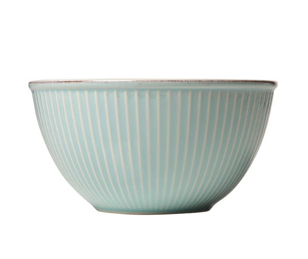 Zdjela za salatu Little Stripes Blue 750 ml