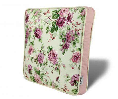 Flowers Pink Ülőpárna 42x42 cm