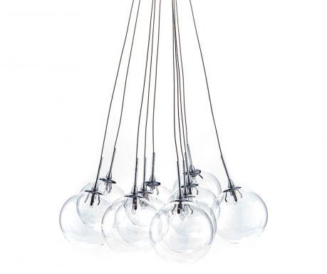 Závěsná lampa Spheres Clear