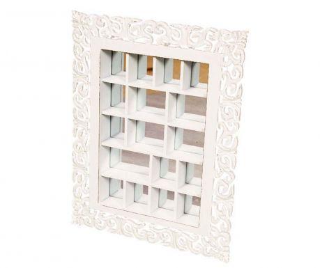 Nástenná dekorácia so zrkadlom Clarysse