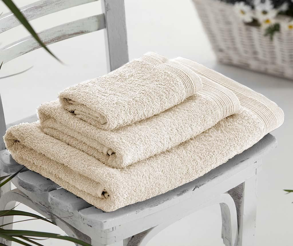 Set 3 kupaonska ručnika Delta Natural