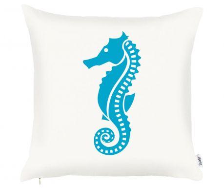 Калъфка за възглавница Seahorse Blue 43x43 см