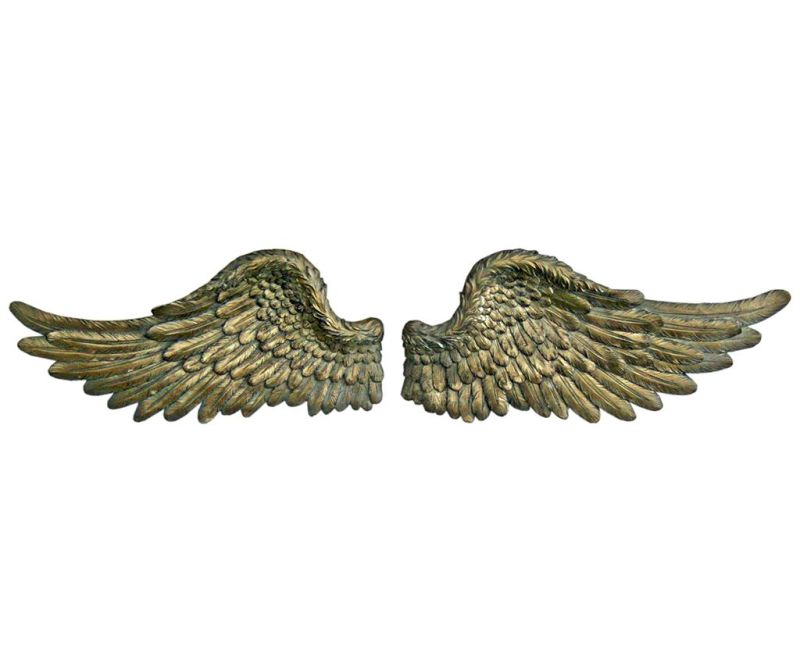 Set 2 decoratiuni de perete Angel Wings