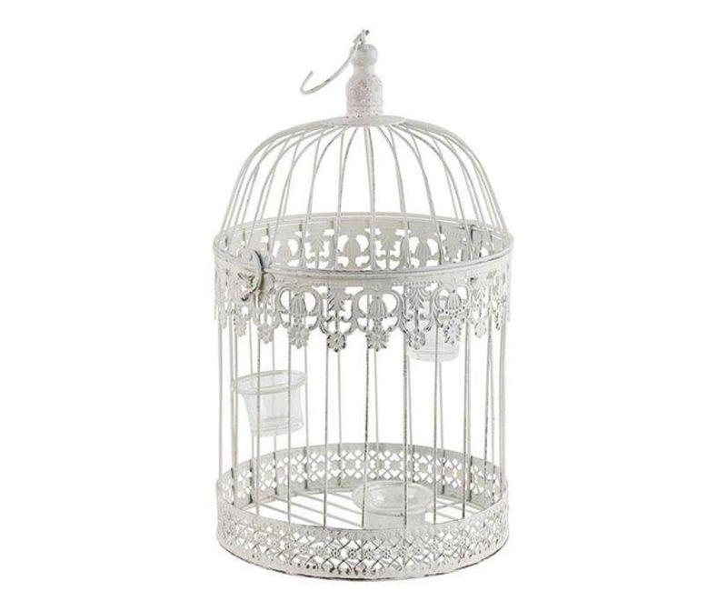 Svečnik Cage Ivory