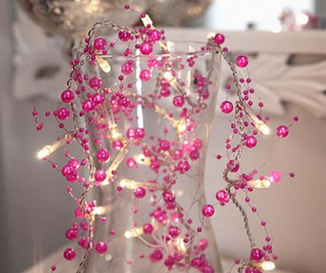 Светеща гирлянда Pearl Pink