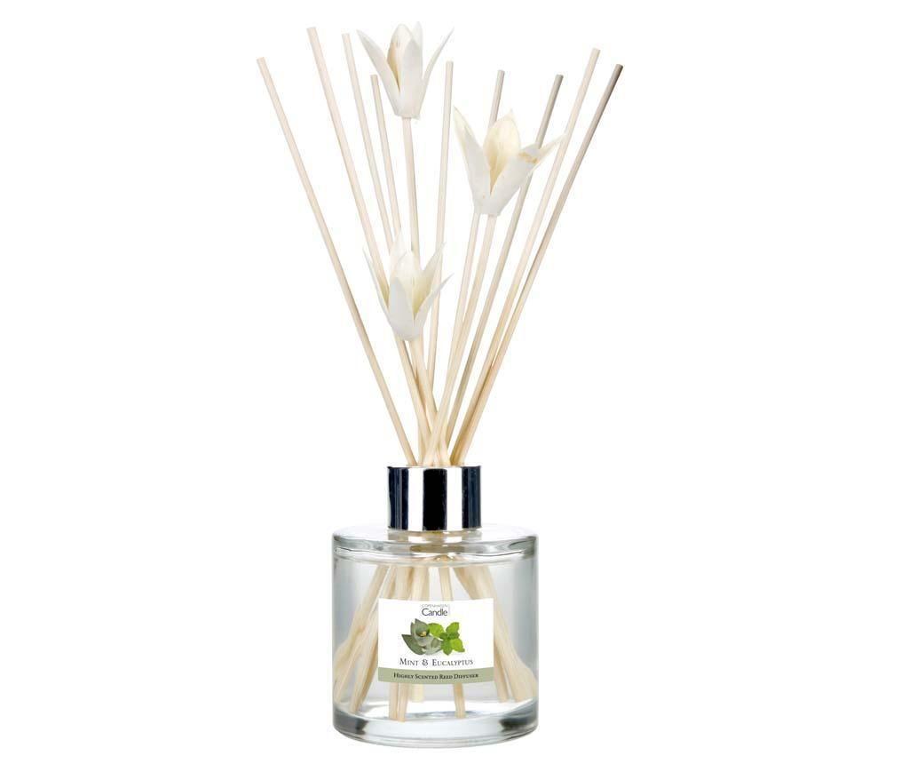 Elegance Mint and Eucalyptus Szobaillatosító illóolajjal és pálcikákkal 100 ml
