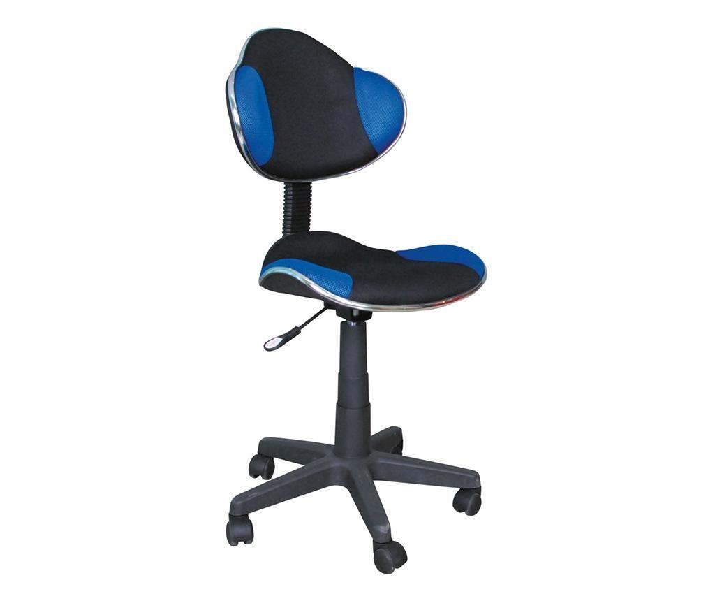 Kancelářská židle Personality Blue & Black