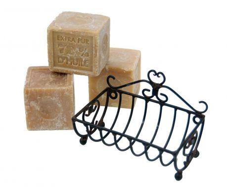 Držač za sapun Black