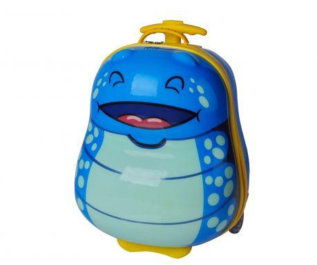 Walizka dziecięca na kółkach Bouncie Bug Ocean 13 L