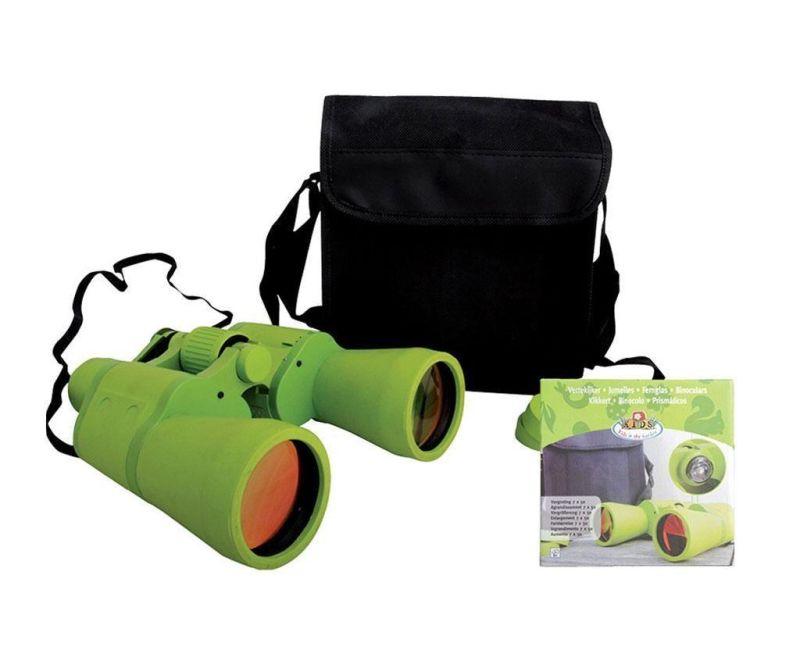 Детски бинокъл и чанта Green