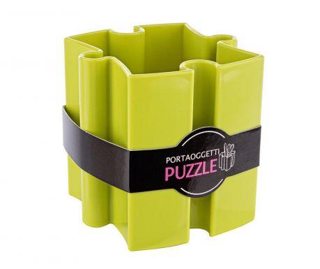 Stojan na perá Puzzle Green