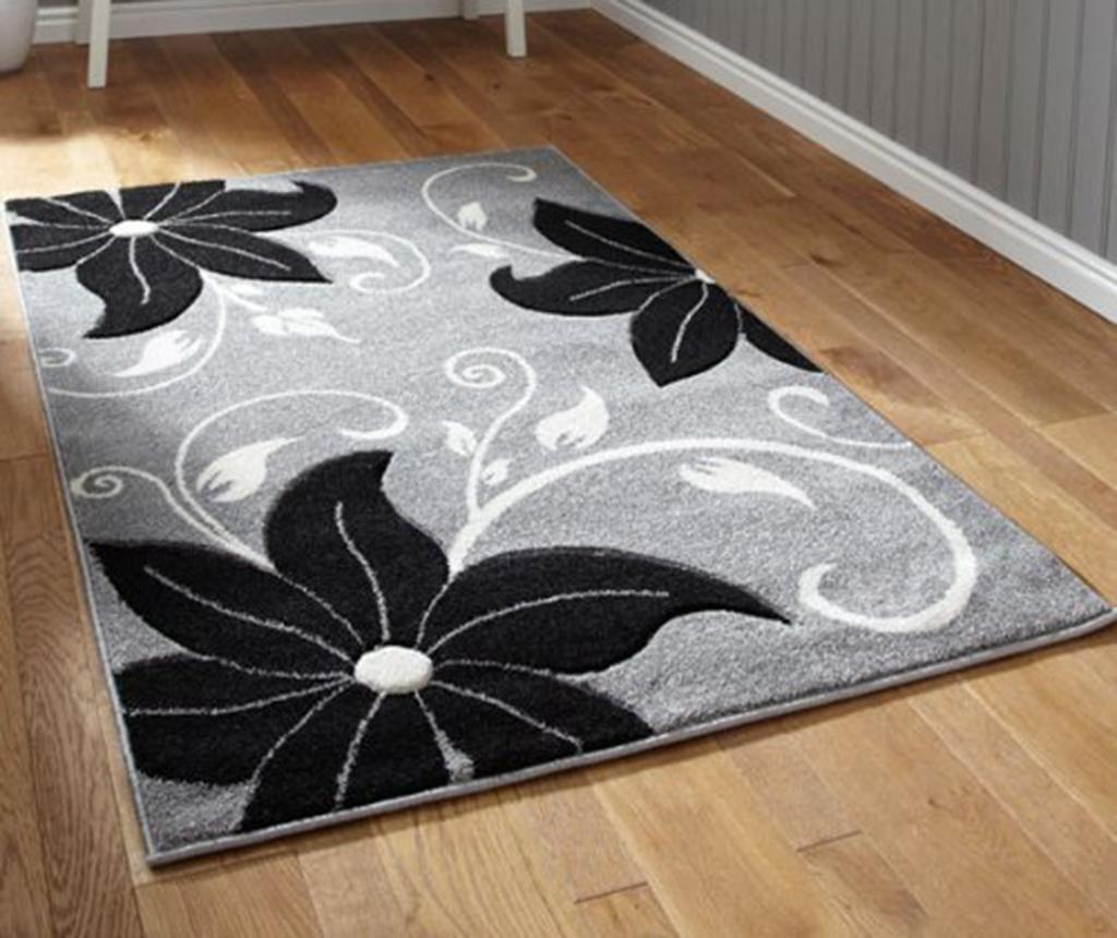 Koberec Verona Grey and Black 80x150 cm