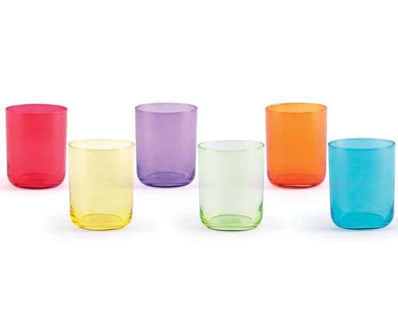 Zestaw 6 szklanek Miami 350 ml