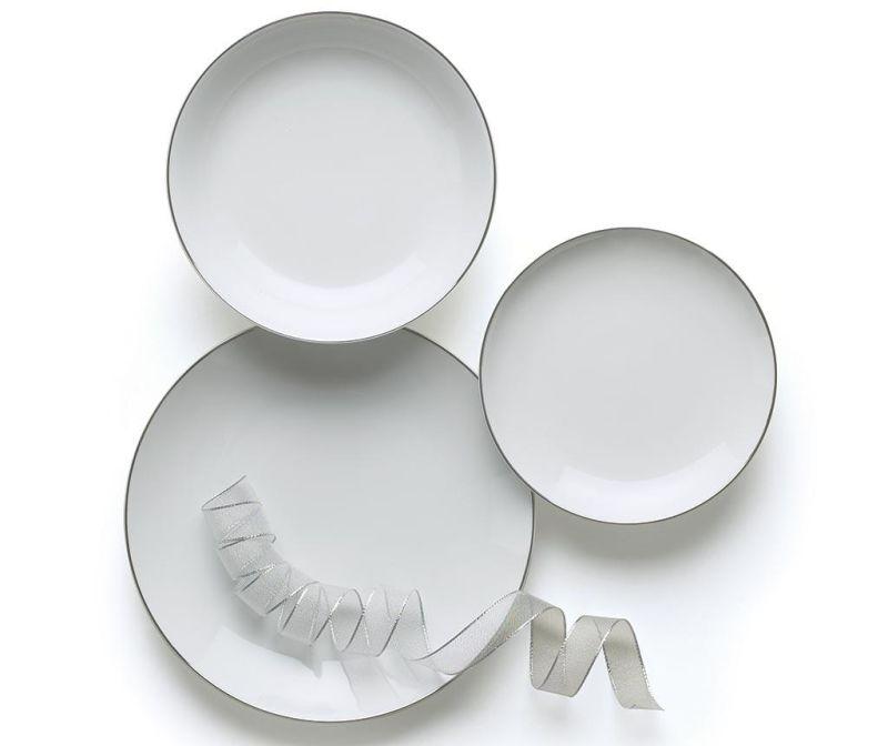 Σετ πιάτα φαγητού 18 τεμάχια Platinum
