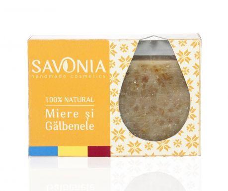 Sapun cu miere si galbenele Natural Savonia 90 g