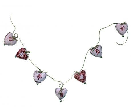 Γιρλάντα με καμπανάκια Embroidered Heart