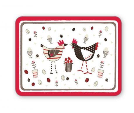Chicken White 4 db Tányéralátét 21.5x29 cm