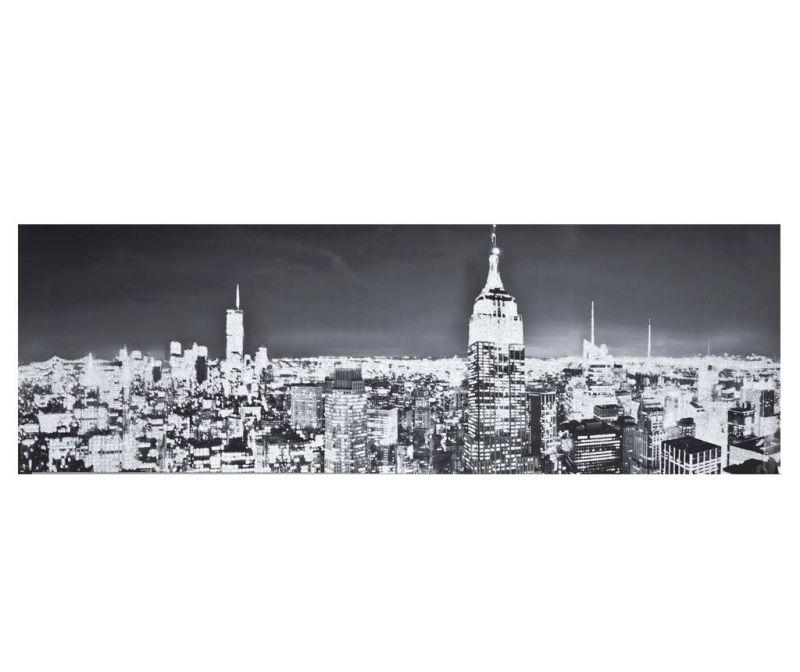 Slika Night City 40x120 cm