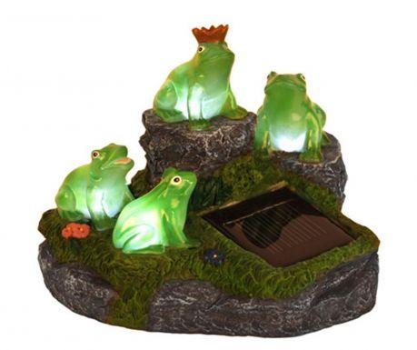 Соларна лампа Frogs on Rock