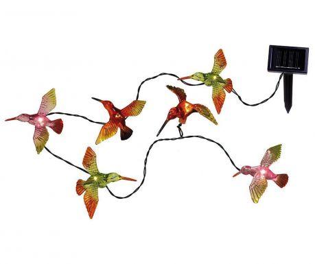 Светеща соларна гирлянда Hummingbirds