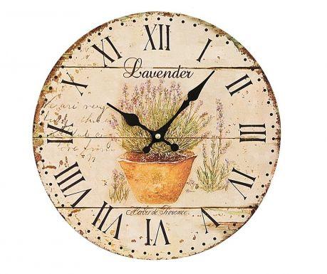 Zegar ścienny Lavender
