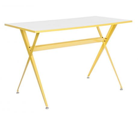 Písací stôl Yuppie Yellow