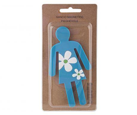 Magnetický stojan na doplňky Woman with Flowers