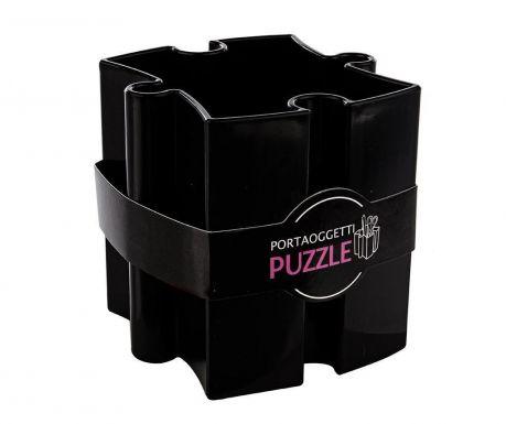 Puzzle Black Írószertartó