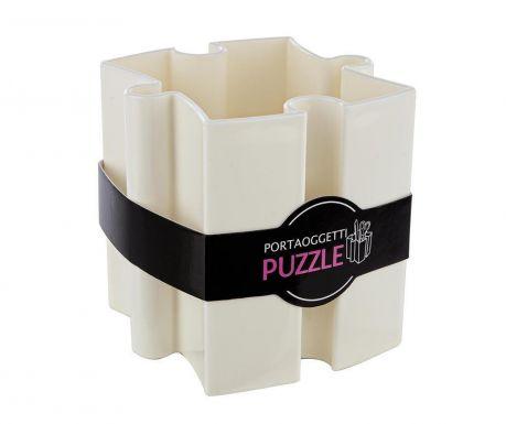 Puzzle White Írószertartó