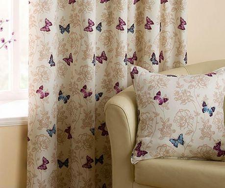 Fata de perna Vintage Butterflies Purple 43x43 cm