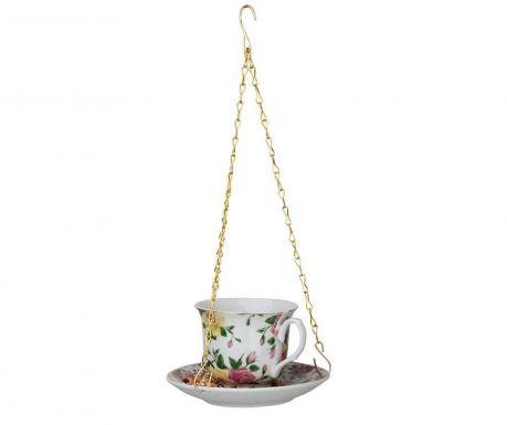 Hranitoare pentru pasari Tea Yellow Pink Roses